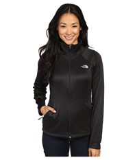 The North Face Agave Full Zip Tnf Black Heather Mid Grey Women's Sweatshirt