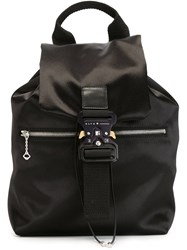 Alyx Safety Buckle Backpack Black