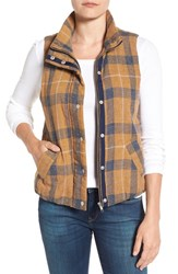 Dylan Women's Washed Plaid Vest