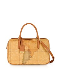 Alviero Martini 1A Classe Handbags 1A Prima Classe Geo Printed Medium 'New Basic' Satchel Bag