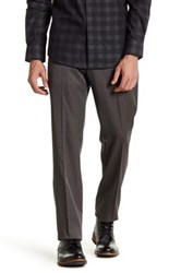 Perry Ellis Melange Solid Slim Fit Pant 30 34 Inseam Gray