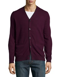 Vince Long Sleeve Cashmere Cardigan Concord