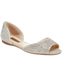 Inc International Concepts Women's Elsah Embellished D'orsay Flats Only At Macy's Women's Shoes Champagne