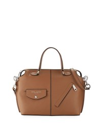 Marc Jacobs The Edge Leather Satchel Bag Oak