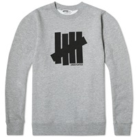 Undefeated Strike Crew Sweat Grey Heather