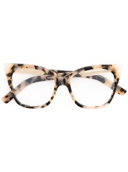 Pared Eyewear Cat And Mouse Glasses Brown
