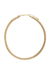 Forever 21 Braided Chain Collar Necklace