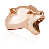 Strange Fruit Bear Ring Rose Gold