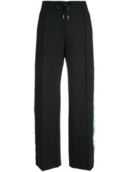 Off White Side Panelled Track Pants Black