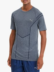 Puma Reactive Evoknit Training Top Dark Denim Heather