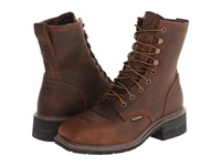 Dan Post Sander Waterproof Steel Toe Saddle Tan Men's Boots Brown