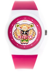 Kenzo 'Tiger' Watch Pink And Purple