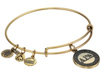 Alex And Ani Alpha Gamma Delta Charm Bangle Rafaelian Gold Finish Bracelet