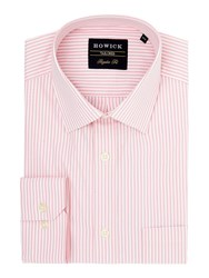 Howick Bay Classic Collar Shirt Pink