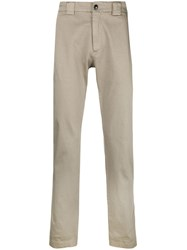 C.P. Company Cp Basic Chino Trousers Nude And Neutrals