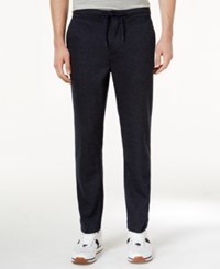 Tommy Hilfiger Men's Max Striped Jogger Pants Navy Blaze