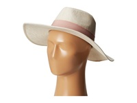 Bcbgeneration Frayed Panama Whisper White Traditional Hats