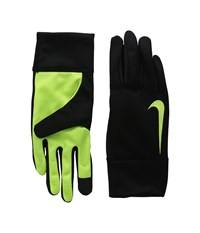 Nike K.O. Thermal Gloves Black Volt Athletic Sports Equipment