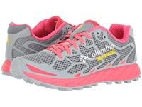 Columbia Rogue F.K.T Tradewinds Grey Laser Red Women's Running Shoes Gray