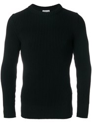 S.N.S. Herning Classic Knitted Sweater Polyester Virgin Wool M Black