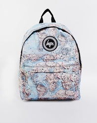 Hype Maps Backpack Blue