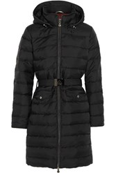 Pyrenex Divine Quilted Shell Down Coat Black