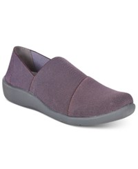 Clarks Collection Women's Cloud Steppers Sillian Firn Sneakers Women's Shoes Aubergine
