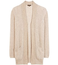 Loro Piana Hungtington Cashmere And Silk Cardigan Beige