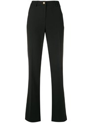 Versace Collection Classic Tailored Trousers Black