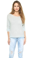 Joie Kerenza Cashmere Sweater Heather Pale Ocean