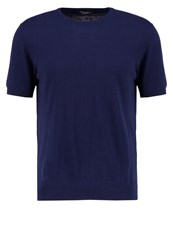 Roberto Collina Basic Tshirt Blue