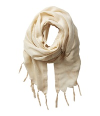 Love Quotes Linen Tassel Scarf Dune Scarves Taupe