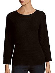 Zadig And Voltaire Banko Pointelle Cashmere Sweater Noir