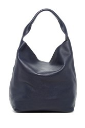 Christopher Kon Unlined Leather Hobo Blue