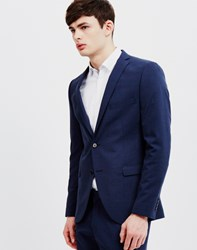 Selected Mylogi Navy Mix Blazer