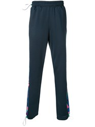Fila Side Stripe Track Pants Blue