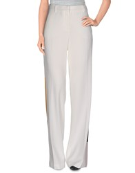 Msgm Trousers Casual Trousers Women Ivory