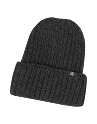 Paul Smith British Wool Men's Beanie Hat Dark Gray