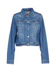 Twenty Easy By Kaos Denim Outerwear Blue