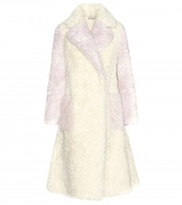 Vika Gazinskaya Wool Coat Yellow