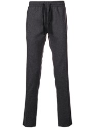 Zadig And Voltaire Drawstring Fitted Trousers Grey