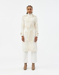 Farrow Colette Lace Trench Ivory