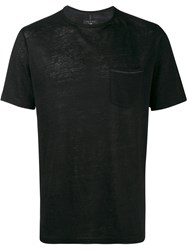 Rag And Bone Owen Short Sleeve T Shirt Black
