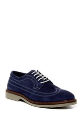 14Th And Union Lockwood Wingtip Dress Shoe Wide Width Available Blue