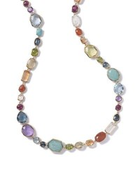 Ippolita 18K Rock Candy Sofia Necklace In Summer Rainbow 39.5