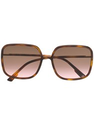 Christian Dior Eyewear So Stellaire 1 Sunglasses Brown