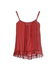 Giorgia And Johns Giorgia And Johns Topwear Tops Women Brick Red