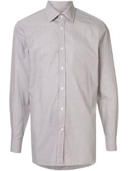 Gieves And Hawkes Check Pattern Shirt 60