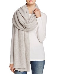 Bloomingdale's C By Cashmere Wrap 100 Exclusive Cement
