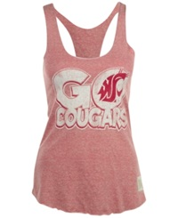 Retro Brand Women's Washington State Cougars Racerback Tank Red